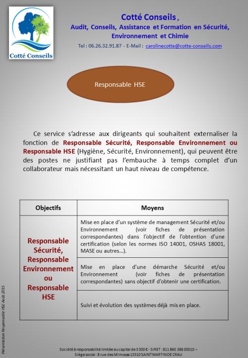 COTTE CONSEILS_HSE